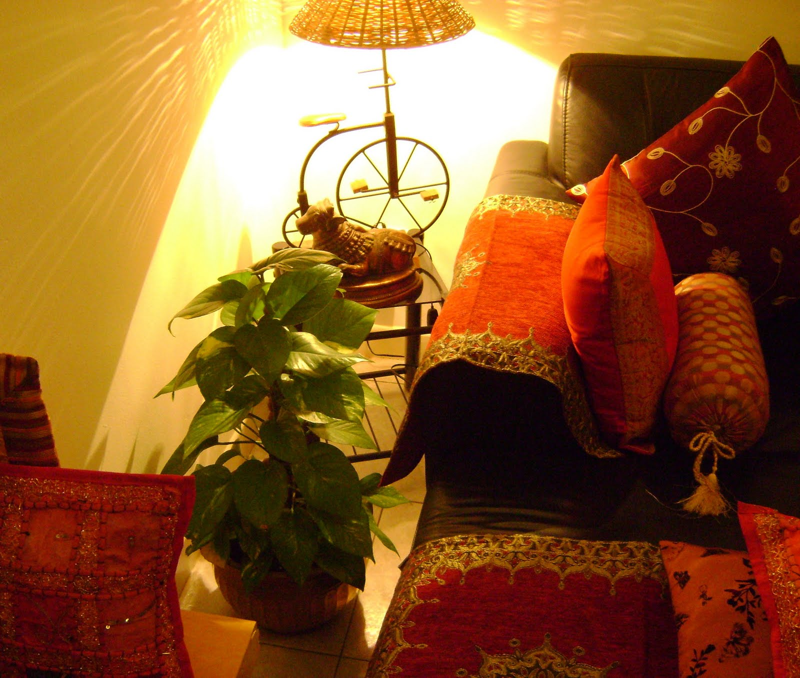 Ethnic indian decor an ethnic indian home in singapore Home decorating blogs