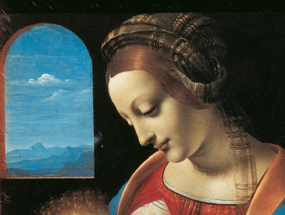 A Da Vinci Madonna - click to enlarge
