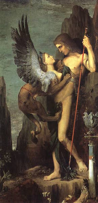 Moreau: Edipo e la Sfinge