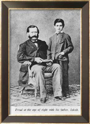 Sigmund with father Jakob