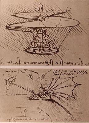 a Leonardo drawing
