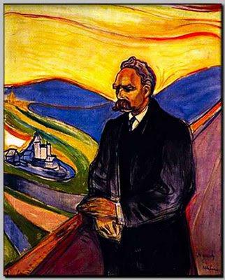Nietzsche ritratto da Munch