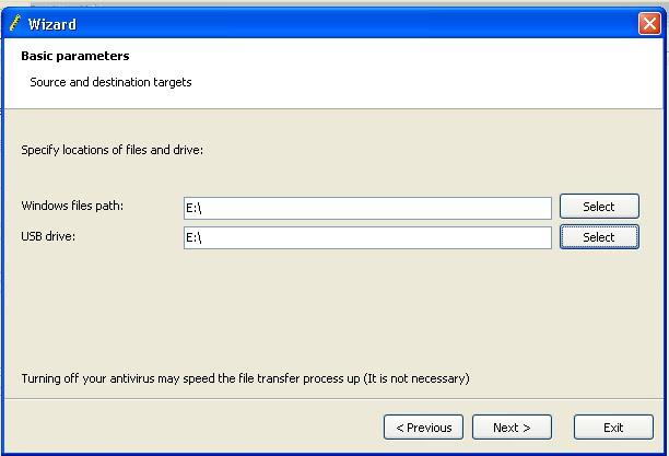 Windwows files path select ke drive cd room dan usb drive select ke ...