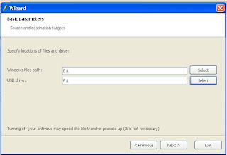 Novicorp WinToFlash 0.6.0005 Beta instal windows via usb