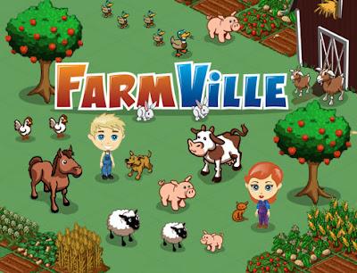 Farmville  Aplikasi Facebook terpopuler
