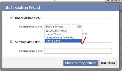 Cara Menyembunyikan Email Facebook