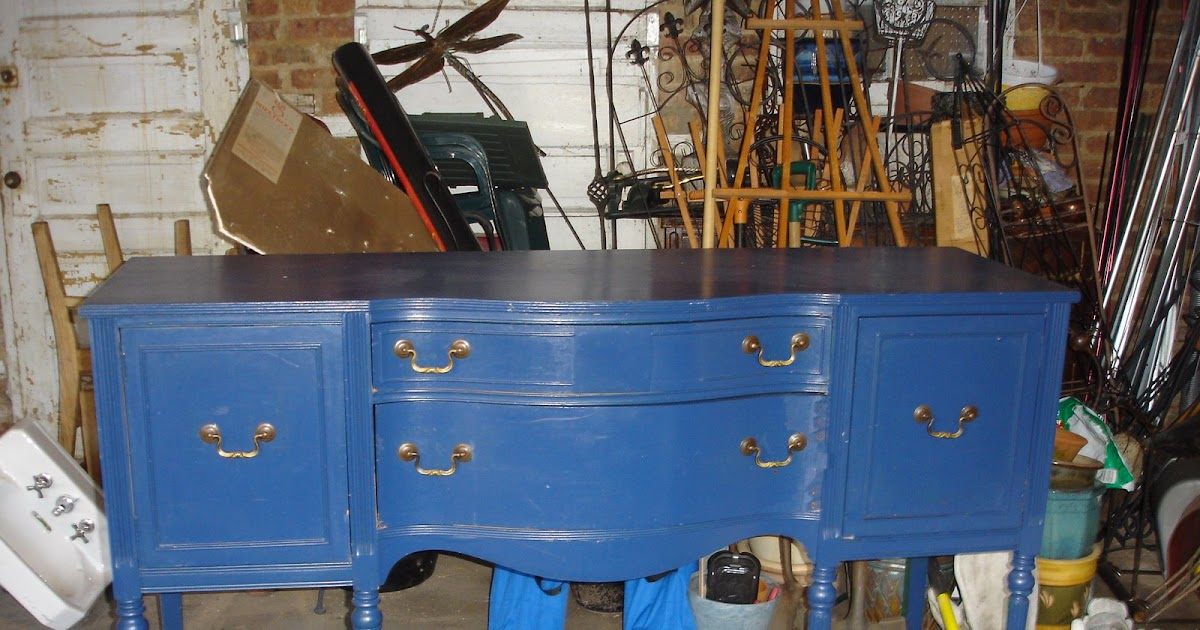The Box House Sideboard Blues And A Standard Bathroom Sink Too