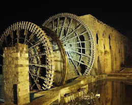 Waterwheels, Hama, Syria