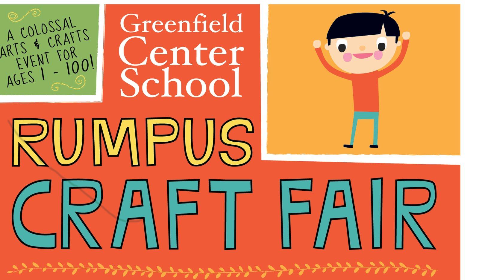 Greenfield Center School Rumpus!