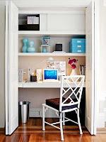 organiza o e cia escrit rios em pequenos espa os. Black Bedroom Furniture Sets. Home Design Ideas