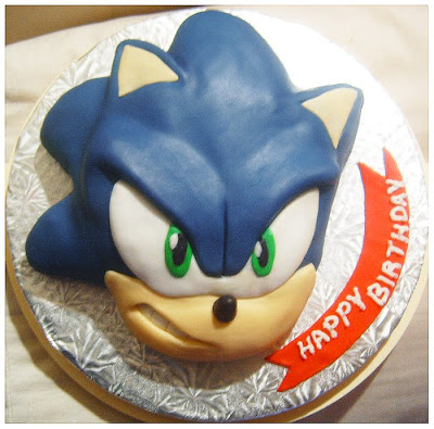 Sonic The Cake