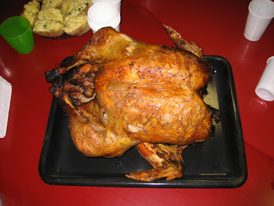 Turkey and Thanksgiving Day = good time! :)