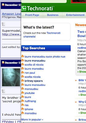 Laure Manaudou Nude Photos Search Dominates Technorati - Six Of Top 15 Searches