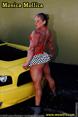 Monica Mollica - New Page At Andy's Muscle Goddesses