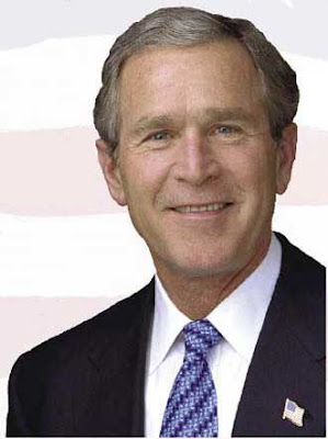 "San Diego Hills Fire - Is President Bush ""Disaster Challenged?"""