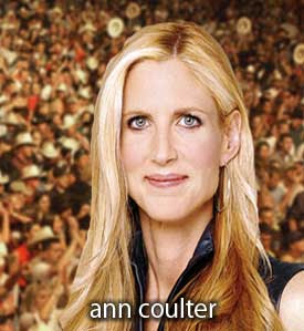 Ann Coulter - Say She's Part Of A Sick Joke - Admits Bigotry Is Wrong