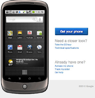 Google Nexus One Phone draws a lot of reviews