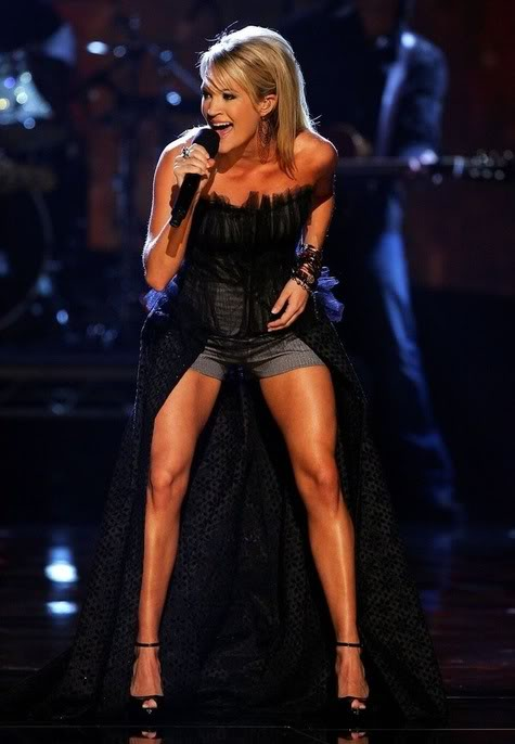 Carrie Underwood's legs,