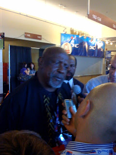 Lou Gossett .Jr at The DNC Convention