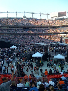 Invesco Field - Obama Speech - Outside