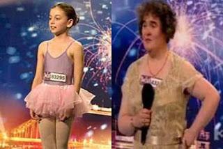 Susan Boyle v. Hollie Steel? Boyle Should Quit BGT Now!