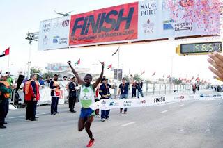 Chicago Marathon tracking - Sammy Wanjiru wins