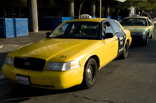 Angry Cab Driver abandons car - and me - in Oakland