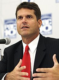 Did Stanford Coach Jim Harbaugh use the F-word?