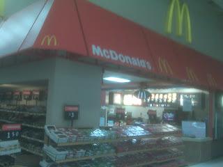 Mc Donalds in Walmart in Georgia