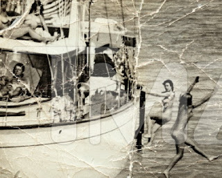 Naked sexy women on boat with JFK and Ted Kennedy?  NO!