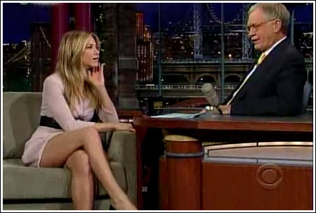 Jennifer Aniston's Legs Will Make Us Forget