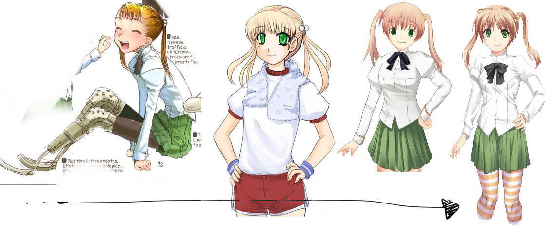 Katawa Shoujo Dev Blog: In the Case of Emi Ibarazaki