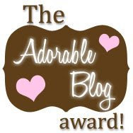 An Adorable Blog Award