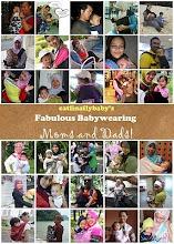 fabulous babywearing :-)
