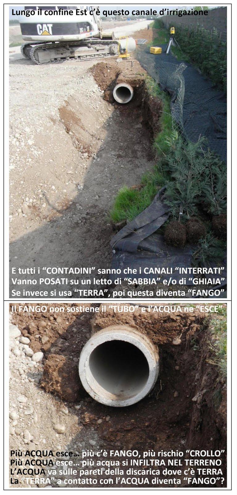 Oggi 1 maggio con operai in discarica l 39 acqua d for Irrigazione a caduta