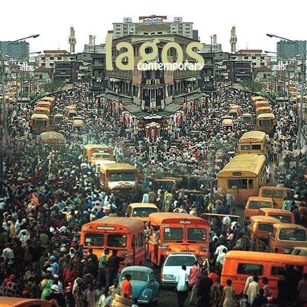 Congested Streets in Lagos, Nigeria