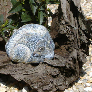 Squirrel StoneArt @ Emma aime