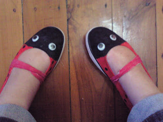 Ladybird shoes @ Emma aime