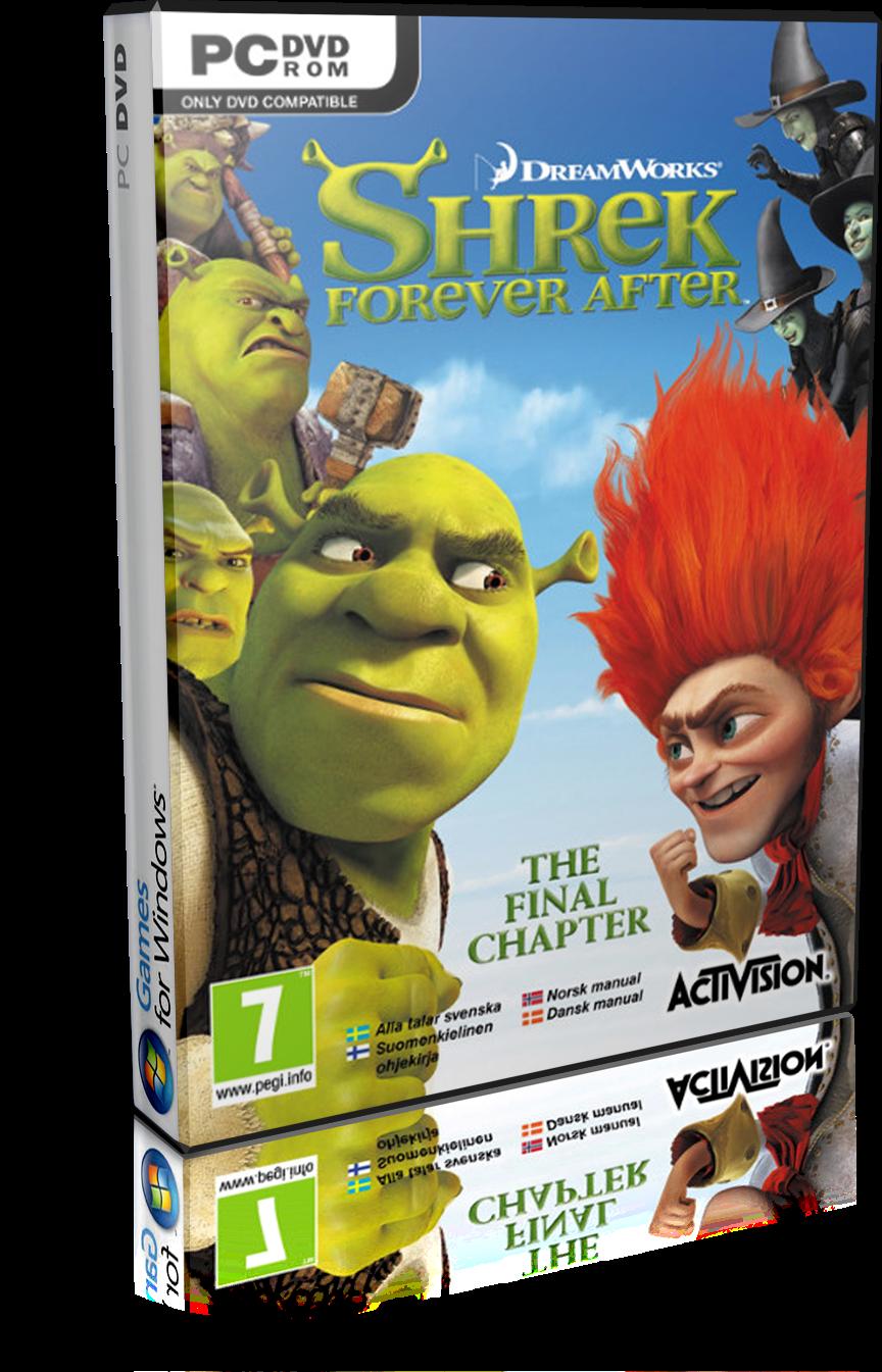 Shrek forever after pc dvdenglishdirectasxd