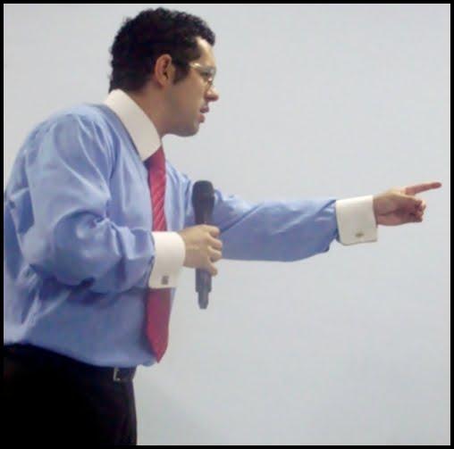 Conferencista Marcos Rocha