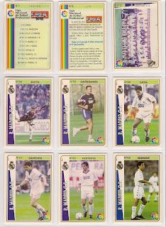Fichas De La Liga 94 95  Mundicromo  1994