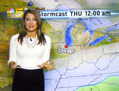 and Watching Jersey Shore--with NBC 5 Chicago Meteorologist Ginger Zee