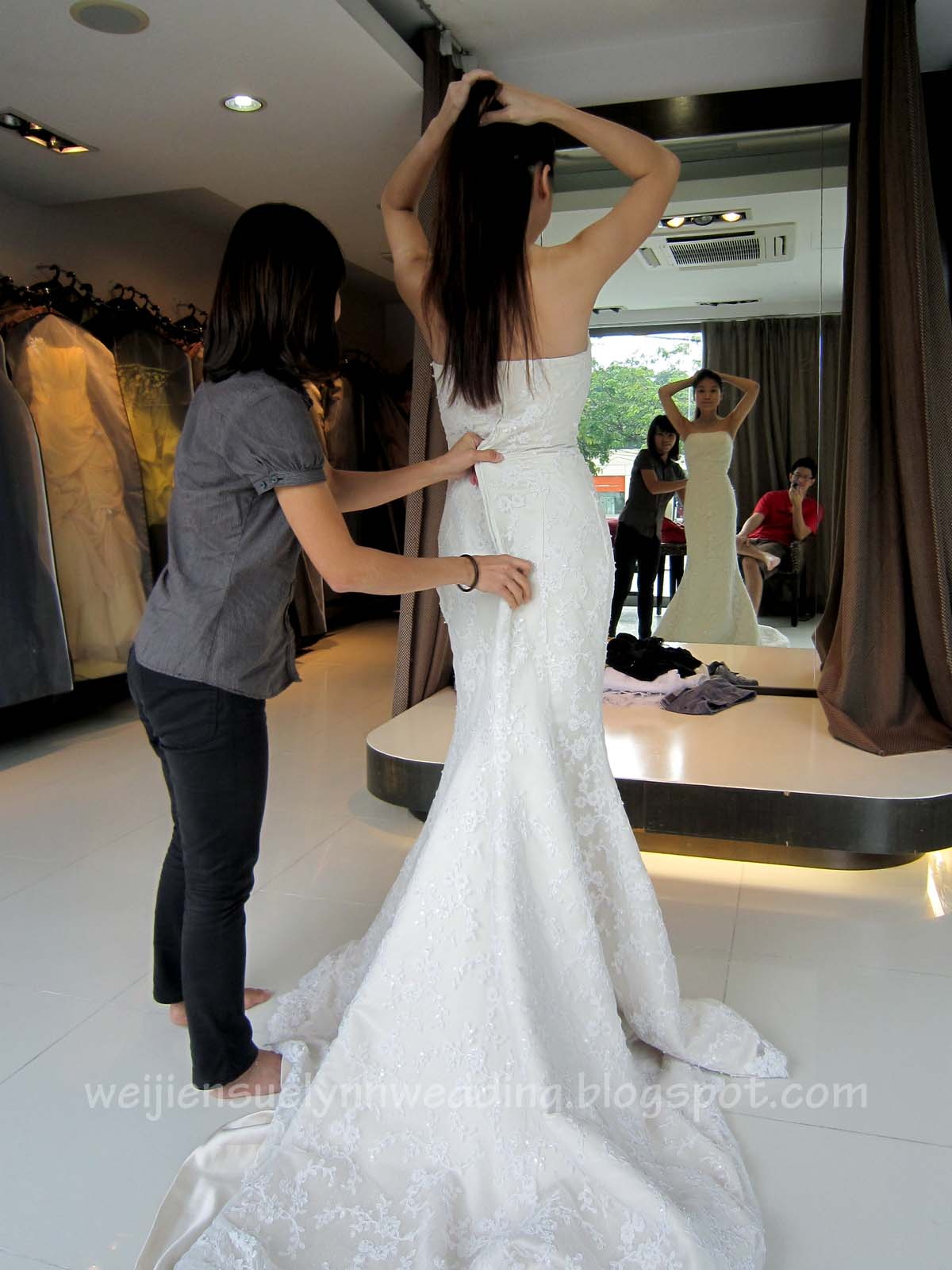 Trying On Wedding Gowns Part 2