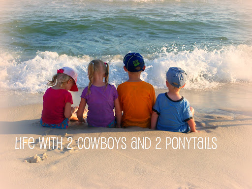 Life with 2 cowboys and 2 ponytails!