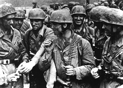 The German paratroopers that captured Eben Emael