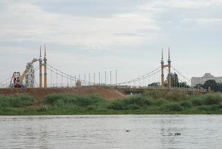 Le pont Nord de Koh Pich - Phnom Penh
