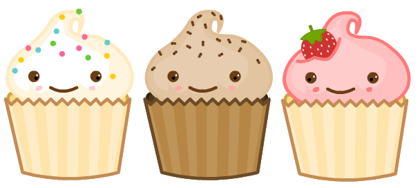 Cupcake Animated Images : cartoon cupcakes on Pinterest Cute Cartoon, Cartoon and ...