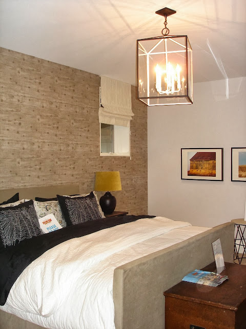 Basement Bedroom   loving the large scale. PML showhouse Archives   Vanessa Francis Design