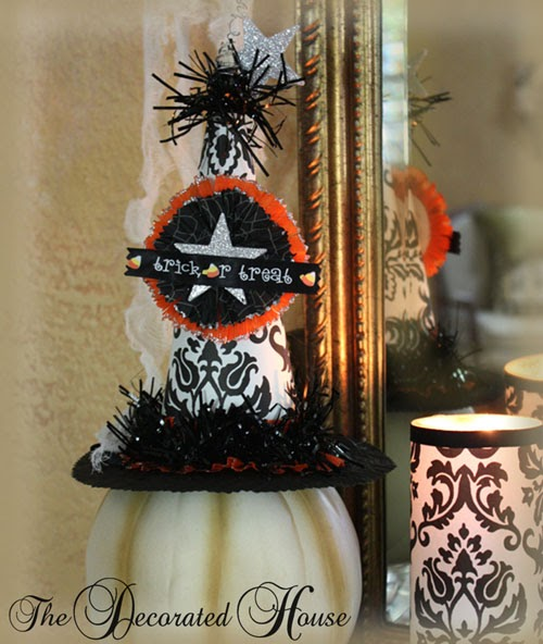 The Decorated House Halloween Decorating Whimsical