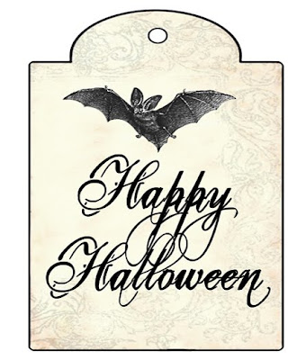 The decorated house free halloween gift tag printable digital free halloween gift tag printable digital download negle Image collections
